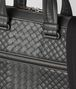 BOTTEGA VENETA BRIEFCASE IN ARDOISE INTRECCIO AURELIO CALF, EMBROIDERY DETAIL Business bag U ep
