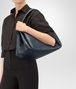 BOTTEGA VENETA PARACHUTE BAG IN DENIM INTRECCIATO NAPPA Shoulder Bag Woman ap