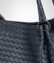 BOTTEGA VENETA PARACHUTE BAG IN DENIM INTRECCIATO NAPPA Shoulder or hobo bag D ep