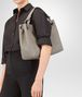 BOTTEGA VENETA MEDIUM SHOULDER BAG IN FUME' INTRECCIATO NAPPA Shoulder or hobo bag D ap