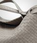 BOTTEGA VENETA MEDIUM SHOULDER BAG IN FUME' INTRECCIATO NAPPA Shoulder or hobo bag D ep