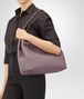 BOTTEGA VENETA BORSA GARDA MEDIA IN INTRECCIATO NAPPA GLICINE Shoulder Bag Donna lp