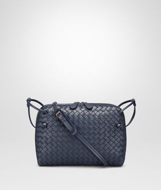 DENIM INTRECCIATO NAPPA LEATHER NODINI BAG