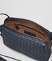 BOTTEGA VENETA MESSENGER BAG IN DENIM INTRECCIATO NAPPA Crossbody bag D dp