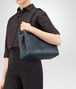 BOTTEGA VENETA BORSA SHOPPING MEDIA IN INTRECCIATO NAPPA DENIM Borsa Shopping D ap