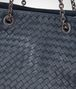 BOTTEGA VENETA BORSA SHOPPING MEDIA IN INTRECCIATO NAPPA DENIM Borsa Shopping D ep