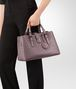 BOTTEGA VENETA SMALL ROMA BAG IN GLICINE INTRECCIATO CALF Top Handle Bag D ap