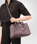 BOTTEGA VENETA SMALL ROMA BAG IN GLICINE INTRECCIATO CALF Top Handle Bag D lp