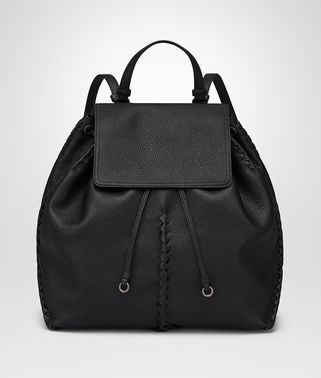 MEDIUM BACKPACK IN NERO CERVO