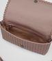 BOTTEGA VENETA MEDIUM CLUTCH BAG IN DESERT ROSE INTRECCIATO NAPPA LEATHER Clutch D dp