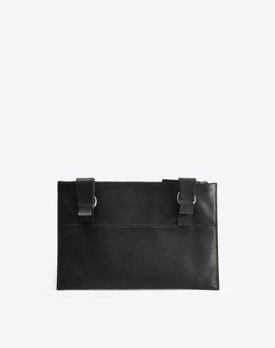 MAISON MARGIELA Clutch U Calfskin pouch with zip closure f