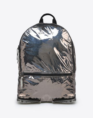 MAISON MARGIELA Backpack U Metallic nylon backpack f
