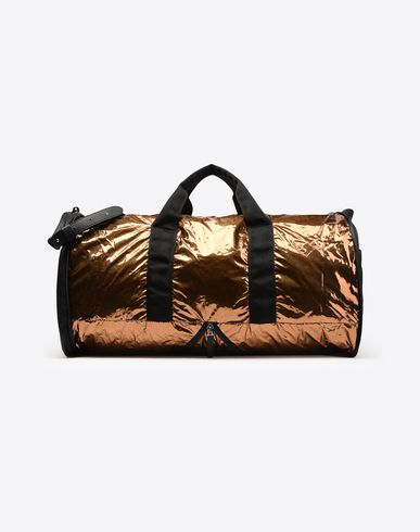 MAISON MARGIELA Travel bag U Metallic nylon weekend bag f