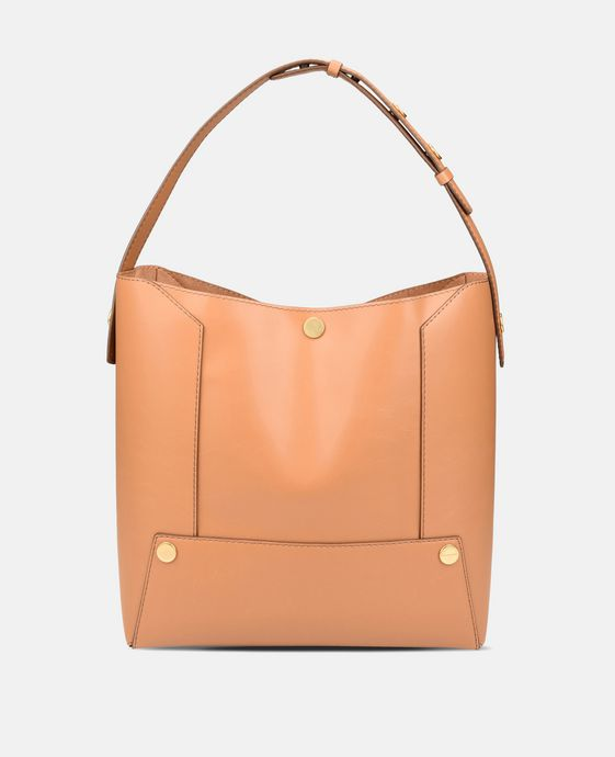 Honigfarbene Hobo Bag Stella Popper