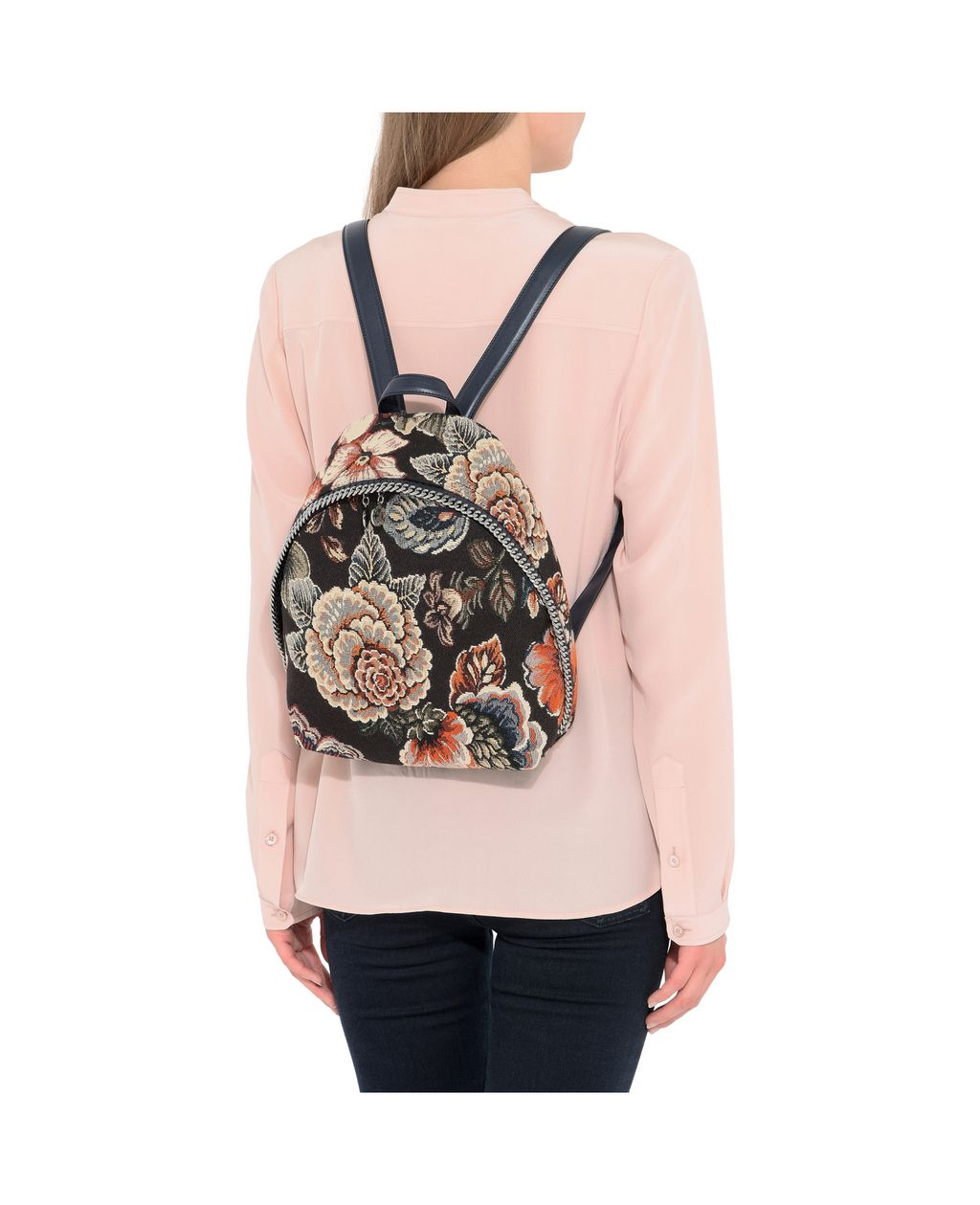 Tapestry Small Backpack - STELLA MCCARTNEY