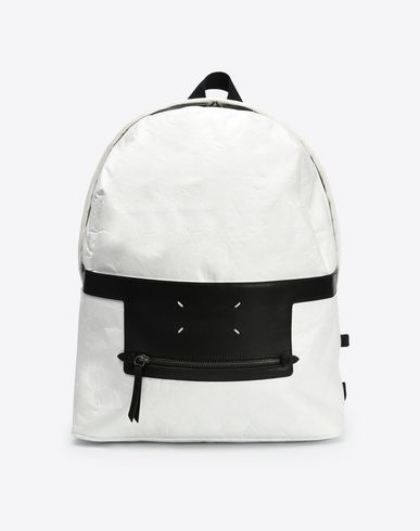 MAISON MARGIELA 11 Backpack U Paper effect backpack with pen f