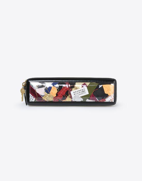 MAISON MARGIELA Patchwork pouch Clutch Woman f