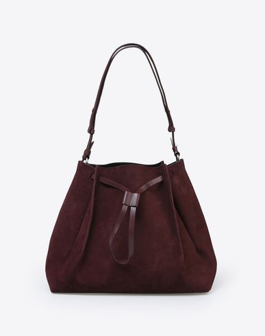 MAISON MARGIELA Suede calfskin bag Shoulder bag D f
