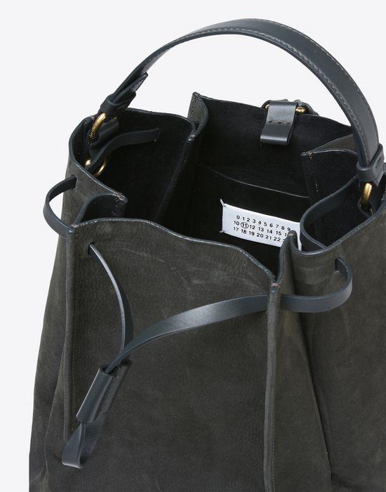 MAISON MARGIELA Suede calfskin backpack Backpack D a