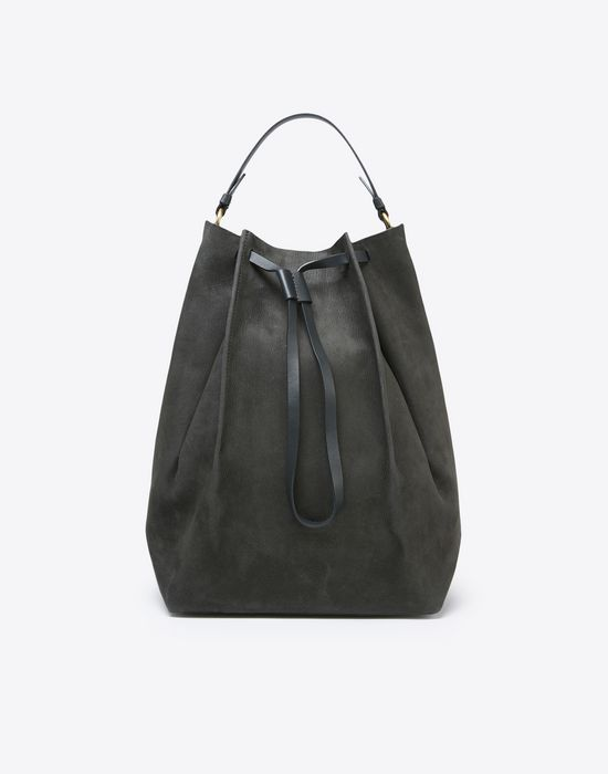 MAISON MARGIELA Suede calfskin backpack Backpack Woman f