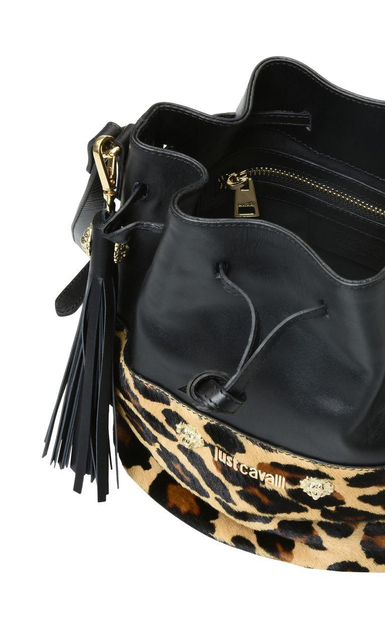 JUST CAVALLI Bucket bag with shoulder strap Crossbody Bag Woman a