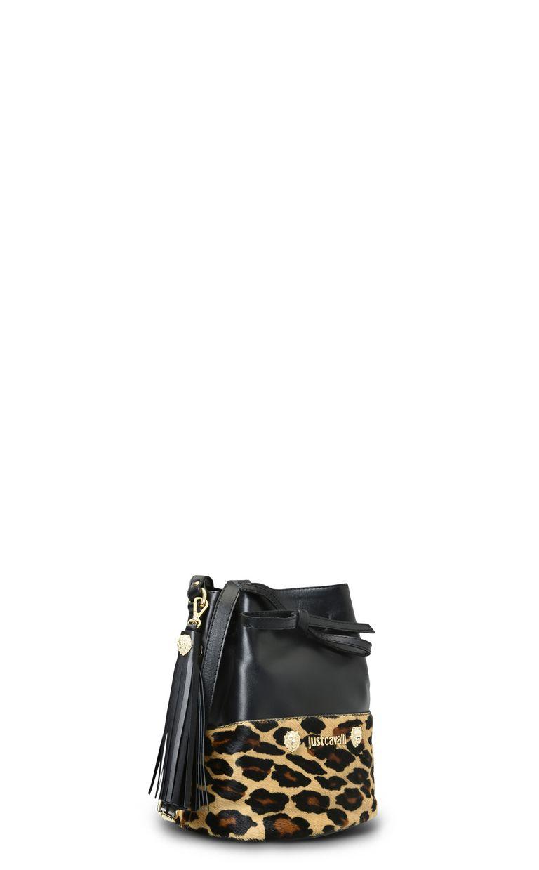 JUST CAVALLI Bucket bag with shoulder strap Crossbody Bag Woman d