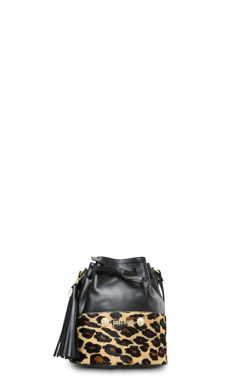 JUST CAVALLI Bucket bag with shoulder strap Crossbody Bag Woman f