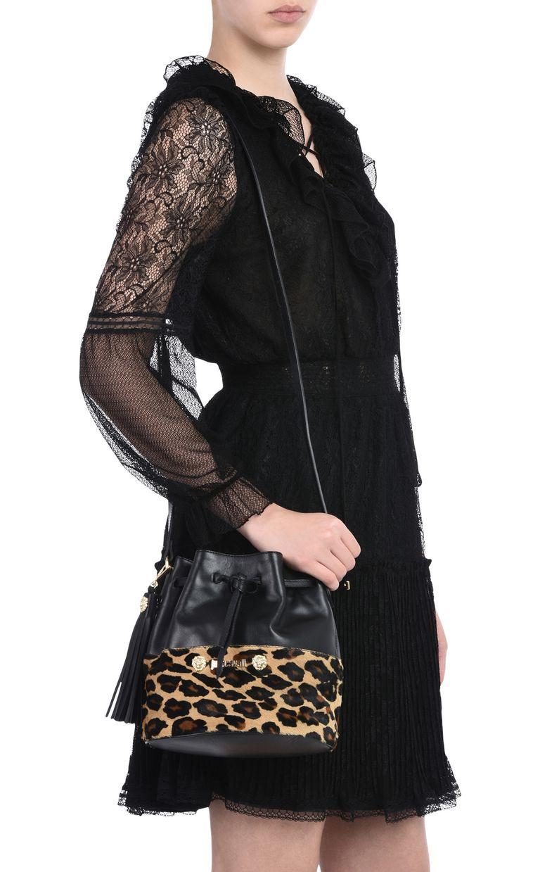 JUST CAVALLI Bucket bag with shoulder strap Crossbody Bag Woman r