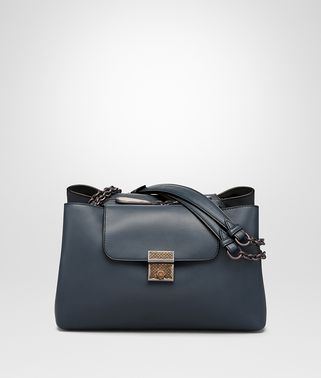 KYOTO BAG IN DENIM CALF