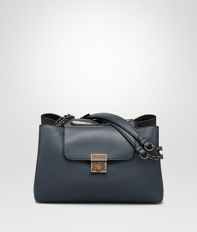 BOTTEGA VENETA KYOTO BAG IN DENIM CALF Shoulder or hobo bag D fp