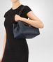 BOTTEGA VENETA KYOTO BAG IN DENIM CALF Shoulder Bags Woman ap
