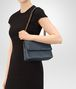 BOTTEGA VENETA SMALL OLIMPIA BAG IN DENIM INTRECCIATO NAPPA  Shoulder Bag Woman lp