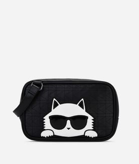 KARL LAGERFELD QUILTED CHOUPETTE MINAUDIERE