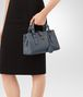 BOTTEGA VENETA MINI ROMA BAG IN KRIM INTRECCIATO CALF Top Handle Bag D ap