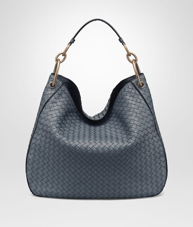 BOTTEGA VENETA LARGE LOOP BAG IN KRIM INTRECCIATO NAPPA Shoulder or hobo bag D fp