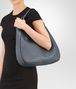 BOTTEGA VENETA MEDIUM LOOP BAG IN KRIM INTRECCIATO NAPPA Shoulder or hobo bag Woman ap