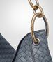 BOTTEGA VENETA MEDIUM LOOP BAG IN KRIM INTRECCIATO NAPPA Shoulder Bag Woman ep