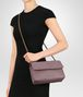 BOTTEGA VENETA SMALL OLIMPIA BAG IN GLICINE INTRECCIATO NAPPA LEATHER Shoulder or hobo bag D ap