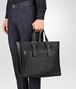 BOTTEGA VENETA TOTE BAG IN NERO EMBROIDERED CALF Tote Bag U ap