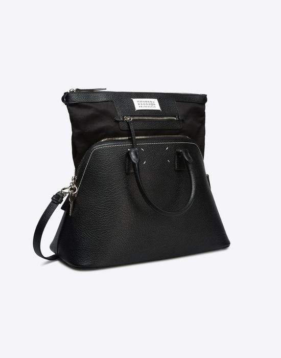 MAISON MARGIELA 11 Large 5AC in textured leather Handbag D d
