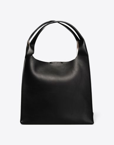 MAISON MARGIELA Calfskin shopper bag Tote D f
