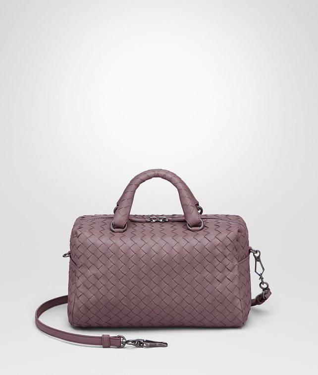 BOTTEGA VENETA MINI TOP HANDLE BAG IN GLICINE INTRECCIATO NAPPA Top Handle Bag D fp