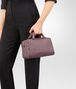 BOTTEGA VENETA MINI TOP HANDLE BAG IN GLICINE INTRECCIATO NAPPA Top Handle Bag Woman ap