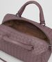 BOTTEGA VENETA MINI TOP HANDLE BAG IN GLICINE INTRECCIATO NAPPA Top Handle Bag Woman dp