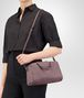 BOTTEGA VENETA MINI TOP HANDLE BAG IN GLICINE INTRECCIATO NAPPA Top Handle Bag Woman lp