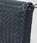 BOTTEGA VENETA MEDIUM CLUTCH BAG IN DENIM INTRECCIATO NAPPA LEATHER Clutch Woman ep