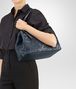 BOTTEGA VENETA MEDIUM CESTA BAG IN DENIM NAPPA LEATHER Borsa Shopping D ap