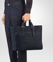 BOTTEGA VENETA TOTE BAG IN PRUSSE EMBROIDERED CALF Tote Bag Man ap