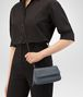 BOTTEGA VENETA MESSENGER BAG IN KRIM INTRECCIATO NAPPA Crossbody bag Woman ap