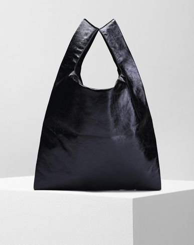 MM6 by MAISON MARGIELA Tote D Metallic shopping tote f